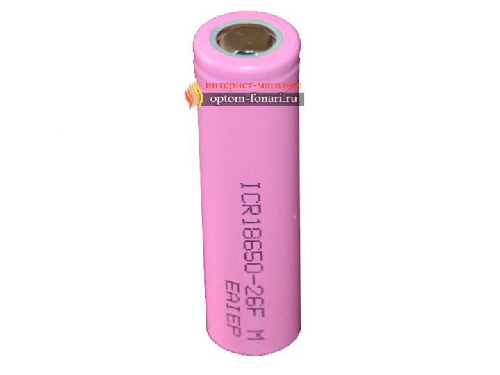Аккумулятор 2600 mAh EAIEP ICR18650-26F