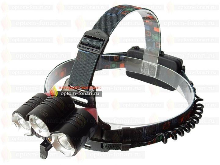 Налобный фонарь UltraFire HL-114-T6