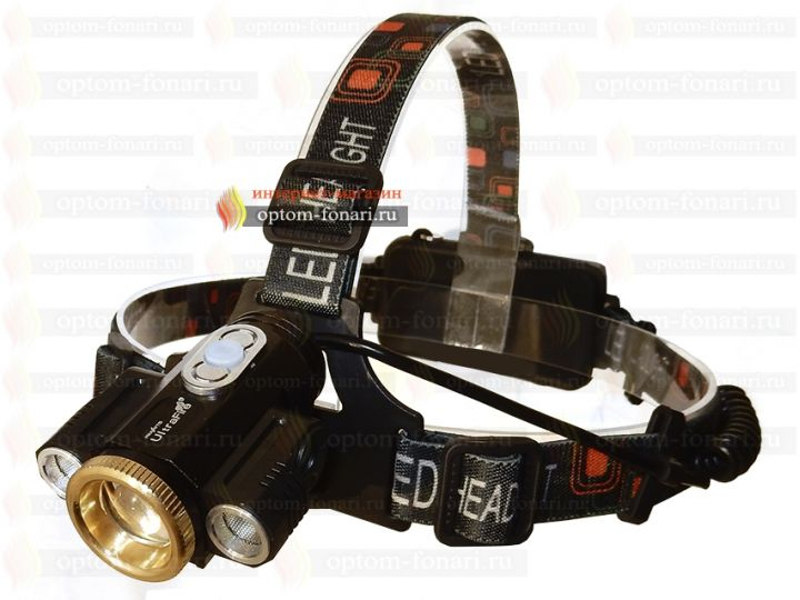 Налобный фонарь UltraFire HL-8212-T6