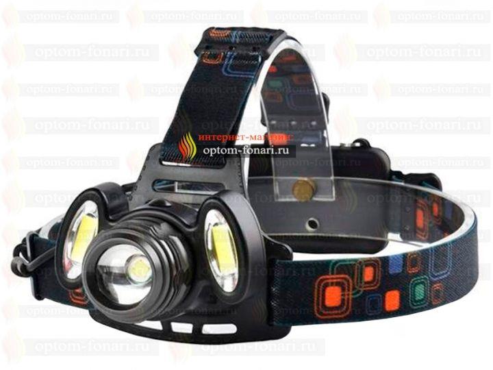 Купить налобный фонарь ПОИСК P-150-T6
