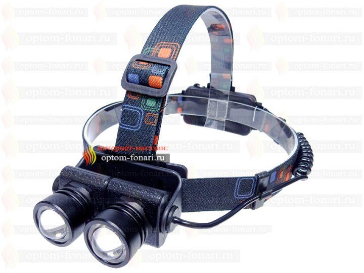 Налобный фонарь ПОИСК P-T108T6-2