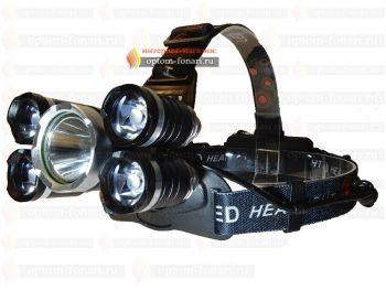 Налобный фонарь ПОИСК YB-5000