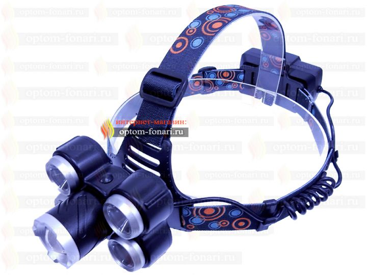 Купить налобный фонарь ПОИСК P-117-5-T6