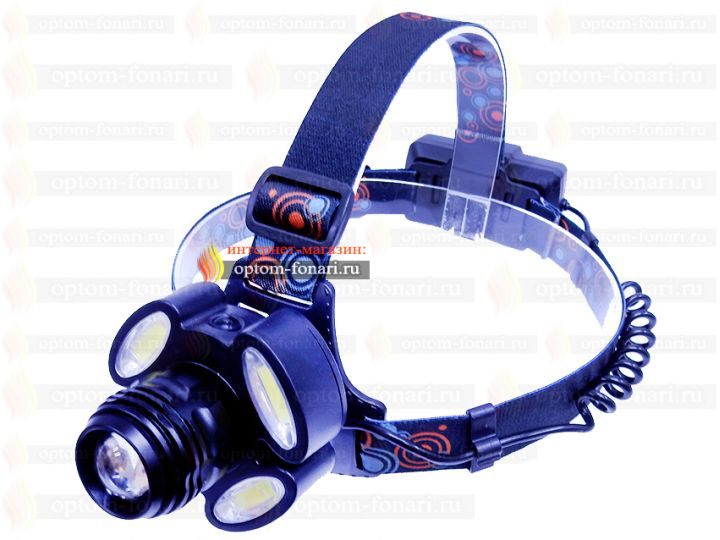 Купить налобный фонарь ПОИСК P-150-5-T6