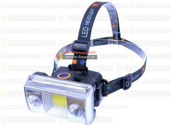 Налобный фонарь ПОИСК P-6653