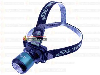 Налобный фонарь ПОИСК P-6803