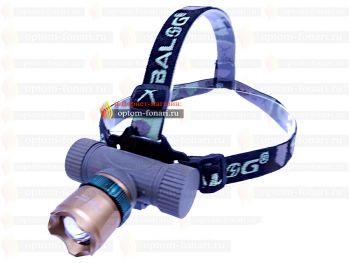 Налобный фонарь ПОИСК P-6866