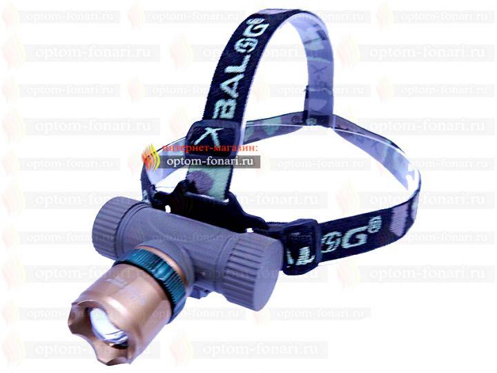 Купить налобный фонарь ПОИСК P-6866