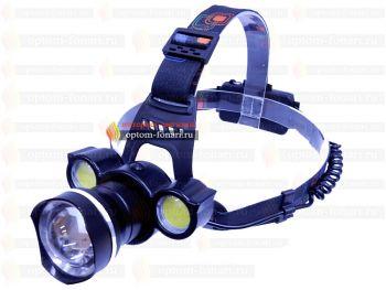 Налобный фонарь ПОИСК P-BT002-T6