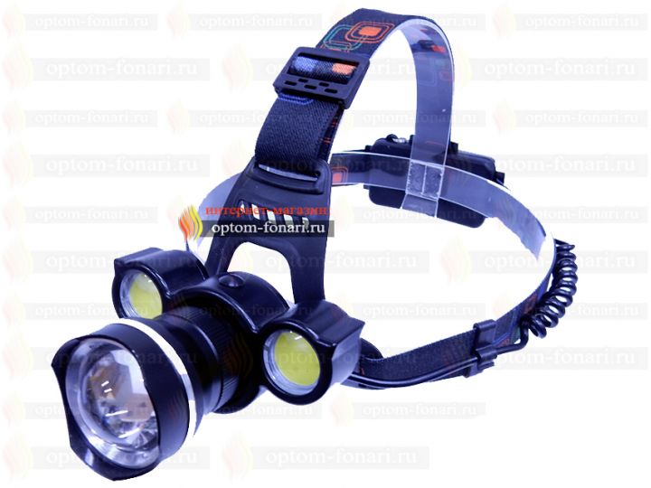 Купить налобный фонарь ПОИСК P-BT002-T6