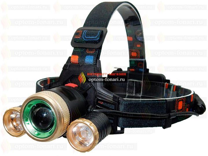 Налобный фонарь ПОИСК P-T19-T6
