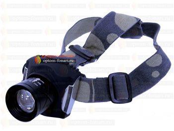 Налобный фонарь ПОИСК P-T806