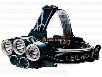 Налобный фонарь Police L-K85-T6 Blue