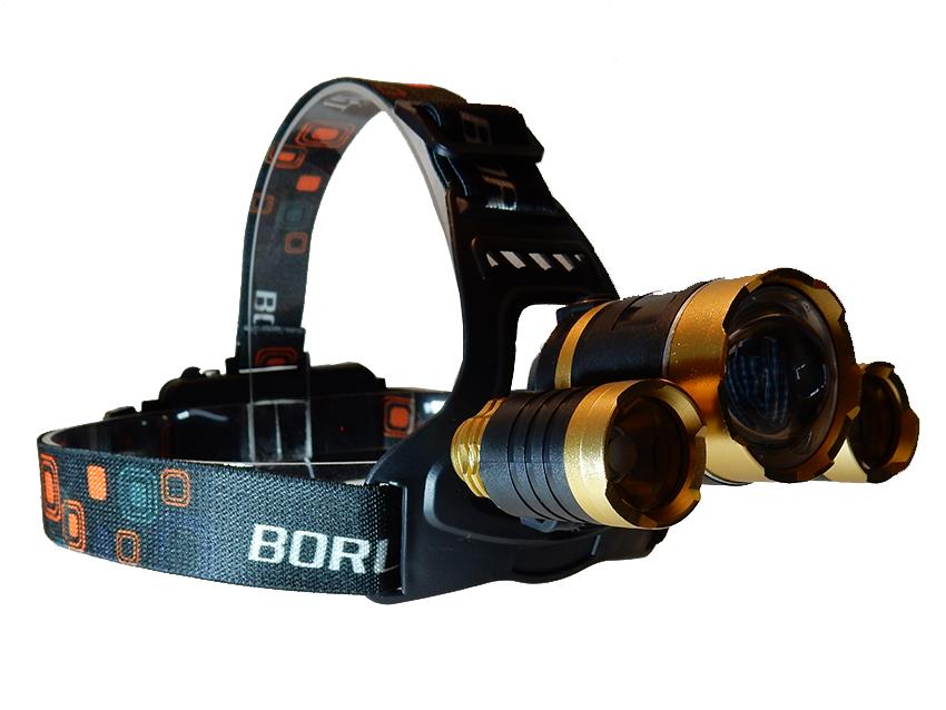 Налобный фонарь Boruit HL-722